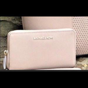 Michael kors wallet in a MK gift box